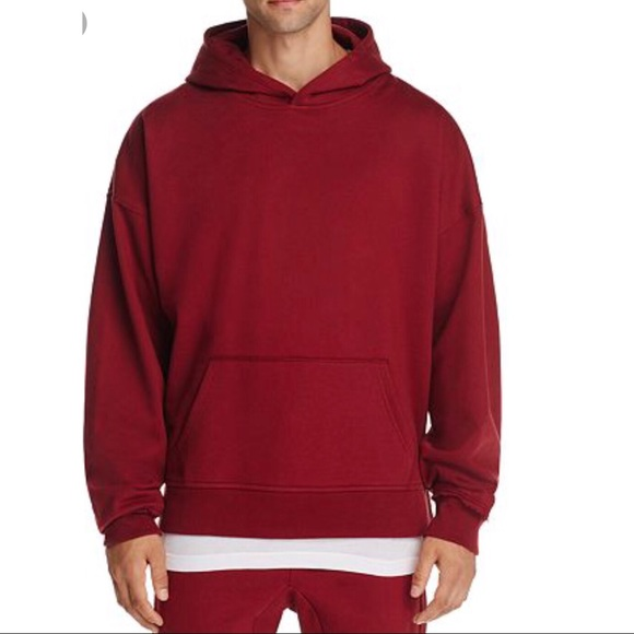 01a79f312 The Narrows Shirts | New Mens Burgundy Oversized Sweater | Poshmark